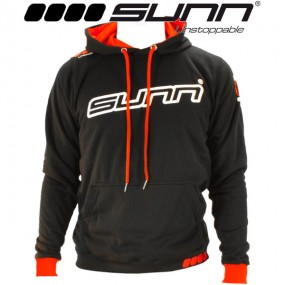 SWEAT A CAPUCHE SUNN NOIR...