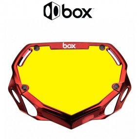 PLAQUE BOX TWO CHROME ROUGE...