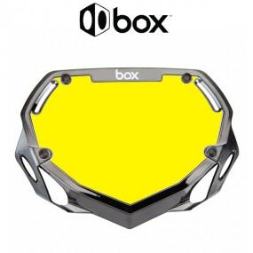 PLAQUE BOX TWO CHROME NOIR...