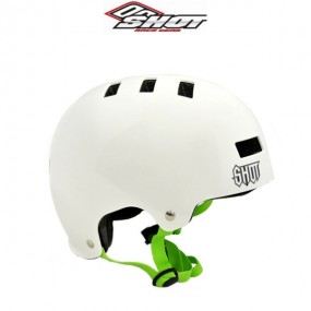 CASQUE SHOT SOLID BLANC