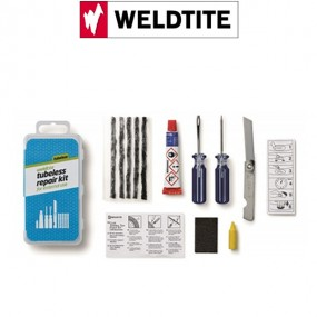 KIT DE REPARATION PNEU TUBELESS WELDTITE
